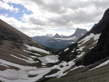 Ptarmigan Tunnel Trail Views - Glacier - Montana - USA