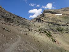 Ptarmigan Tunnel Trailviews - Glacier - Montana - USA