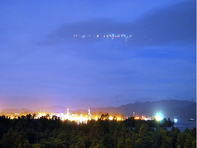 Puerto Princesa Night Sky