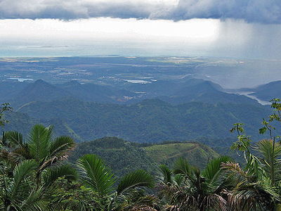 Puerto Rico's South Shore, From The Mountains Of Jayuya