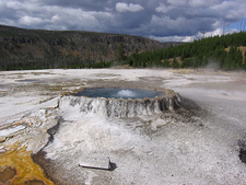 Punch Bowl Spring - Yellowstone - USA