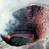 Puu Oo - Crater Lava Pond