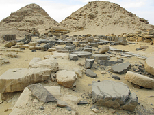 Pyramid Of Neferefre At Abusir