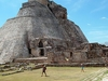 Pyramid Of The Magician At Uxmal - Mexico