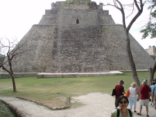 Pyramid Of The Magician - Uxmal - Mexico