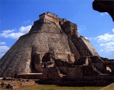 Pyramid Of The Magicians - Uxmal - Mexico