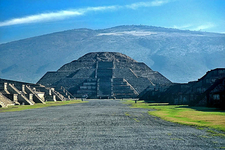 Pyramid Of The Moon - Teotihuacan - Mexico