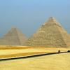 Pyramids In Giza Necropolis - Cairo