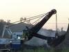 Digging Overburden At Dawson Mine