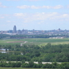 Eppley Airfield And Downtown Omaha