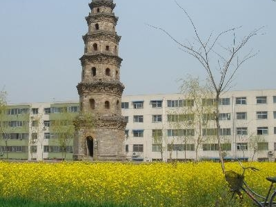 Pagoda In Xinzheng
