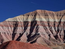 The Gray And Red Colored Painted Desert