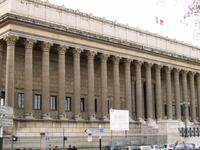 Palacio de justicia histórico en Lyon