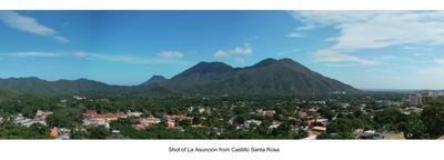 View Of La Asunción From Castle