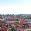 Panorama Of The Vilnius Old Town Visible From Atop The Gediminas Tower