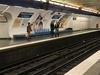 Line 7 Platforms At Chaussée D'Antin - La Fayette