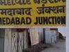Ahmedabad Junction Stationboard