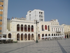 The Apollon Theatre In Georgiou Square