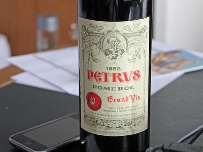 A Bottle Of Petrus