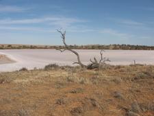 Pink Lakes Salt Lakes In National Park