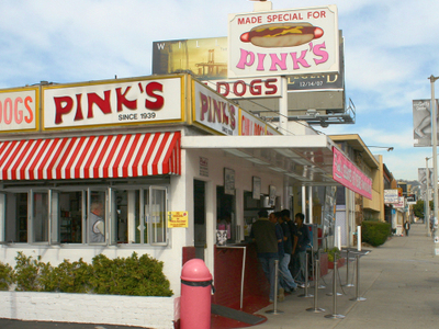 Pinks Hot Dogs