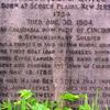 Gravestone Of Major Benjamin Stites