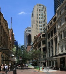 Pitt Street Mall From King Street