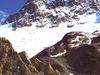 The Peak Rising Above The Porchabella Glacier