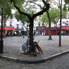 Place De Tertre In The Morning