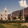 Plaza Of Huanuco With San Sebastian Church
