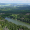 Plen Lake At Sumava National Park