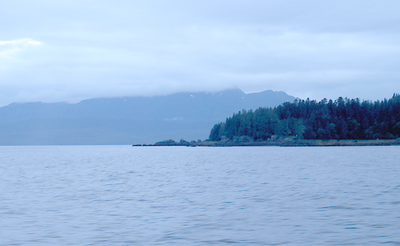 Point Hugh Divides Stephens Passage From The Seymour Canal
