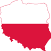Poland Map Flag