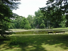 Pond And Shelter In Shawnee Park