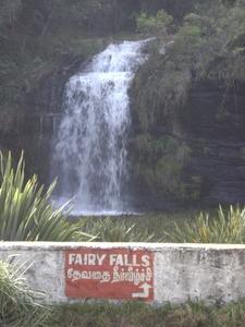 Poombarai Falls Named Fairy Falls