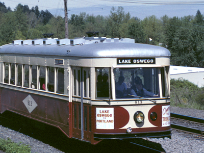 Willamette Shore Trolley
