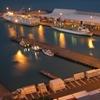 Port Of Napier At Night