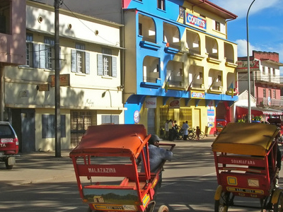 Pousse-pousses In Central Antsirabe