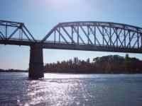 The Bridge Linking Carmen De Patagones With Viedma