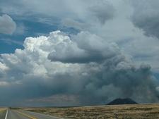 Pyro Cumulus Three Buttes