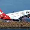 Qantas A380 Taking Off