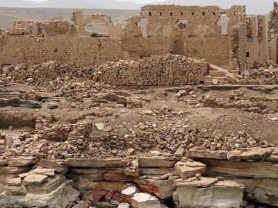 Ruins Of A Byzantine Church At Qasr Ibrim