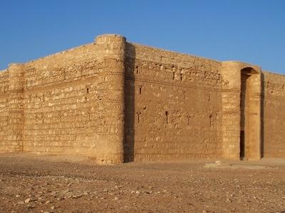 Qasr  Kharana In  Jordan