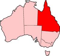 Q L D In  Australia Map
