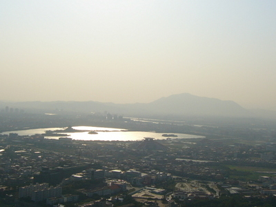 Quanzhou City From Mt Qingyuan