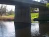 Bridge Near The Centre Of City Over The River