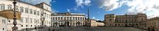 Quirinale Panorama - Piazza Del Quirinale - Rome - Italy