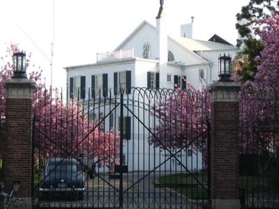 North Side In Springtime