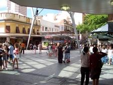 Queen Street Mall Albert Street Crossroad