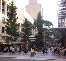 Queen Street Mall Edward Street Crossroad
